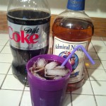 Spiced Rum and Diet Coke – Necessities